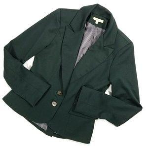 Matty M Dark Green Blazer